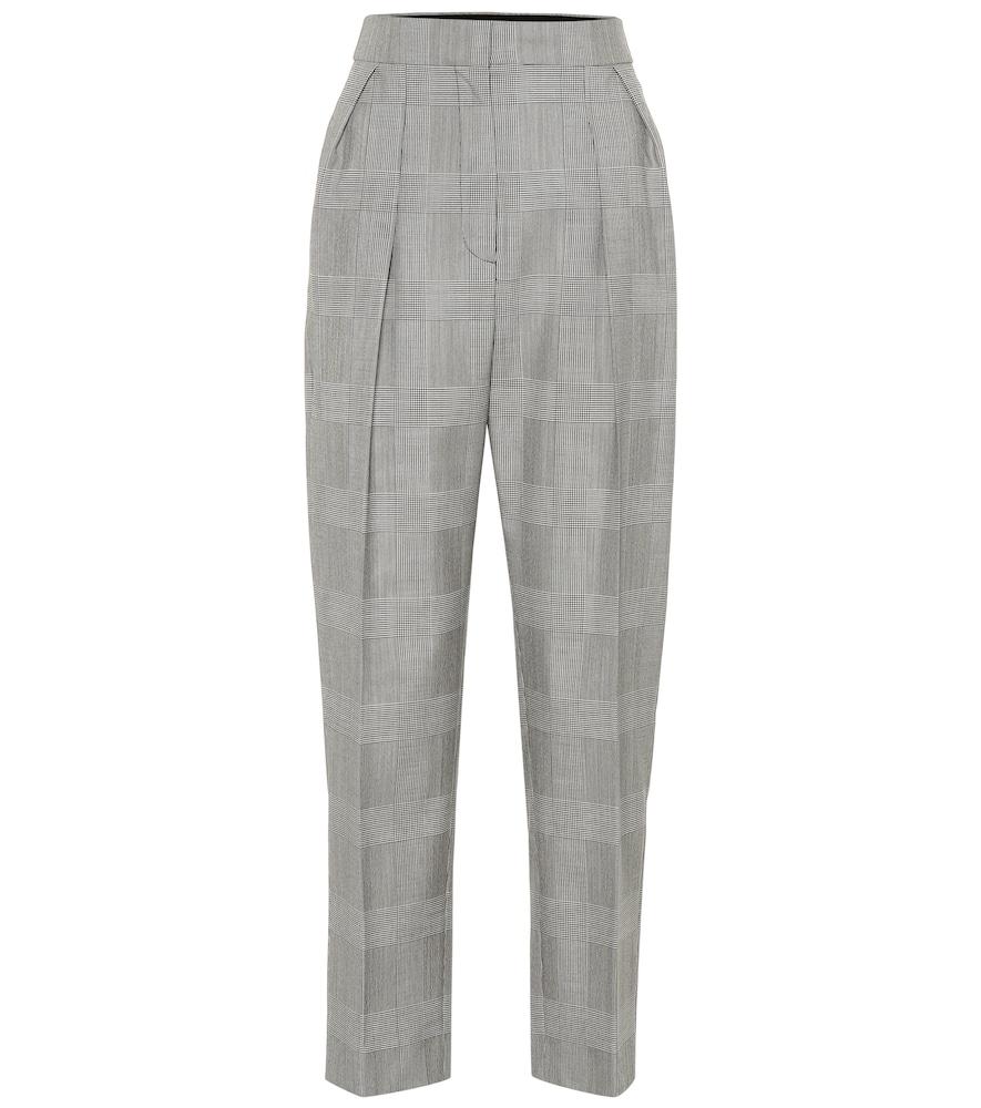 MAX MARA | Festa high-rise straight wool pants | Goxip