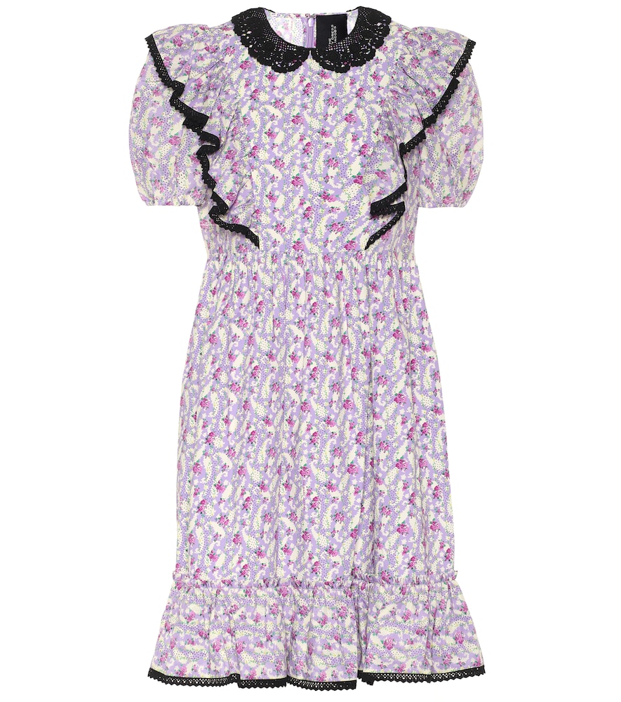 The Shirley floral cotton midi dress