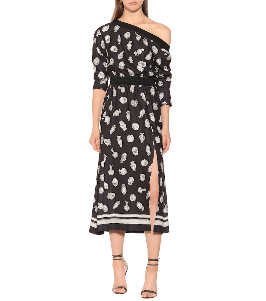 Paola printed midi dress by Altuzarra