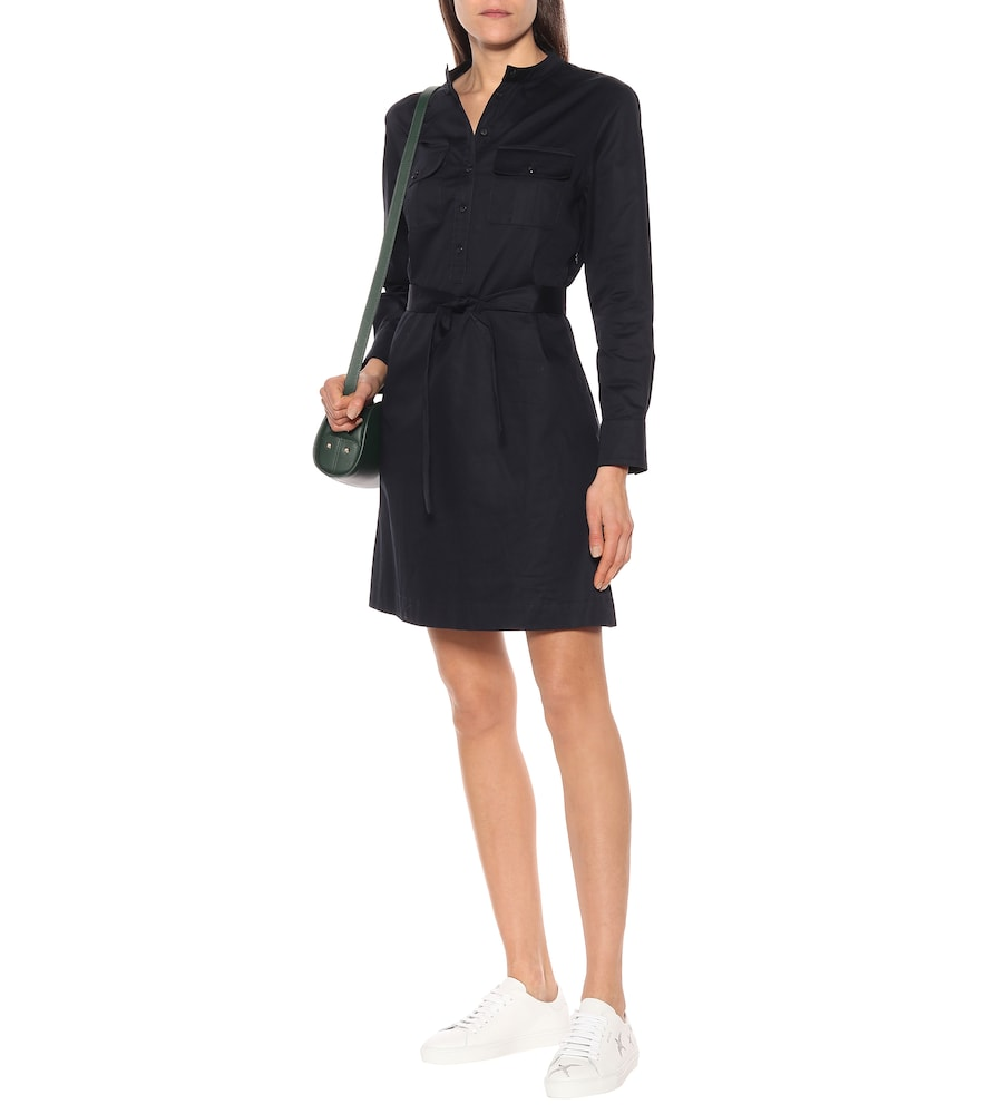 Martine cotton-sateen dress by A.P.C.
