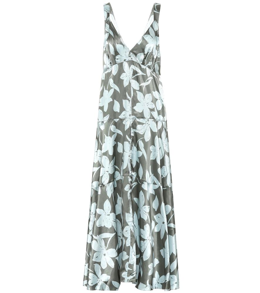 Robe longue Momo à fleurs