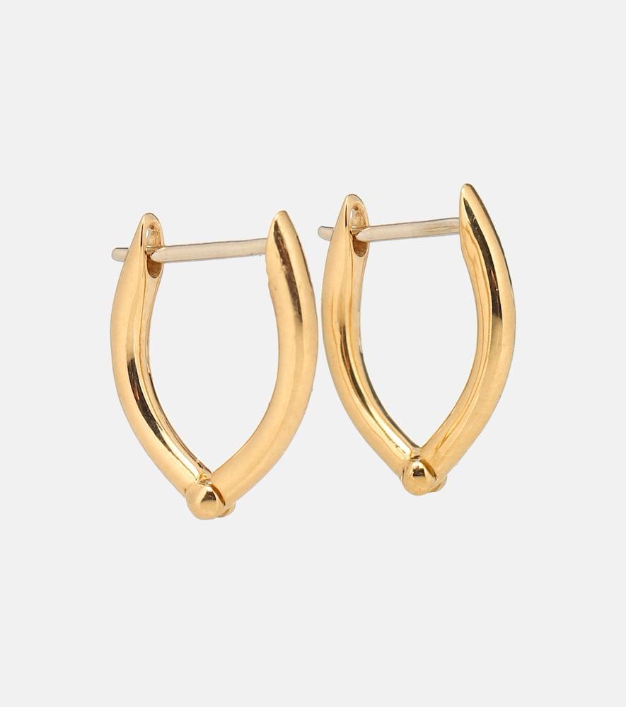 Cristina Small 18kt gold hoop earrings