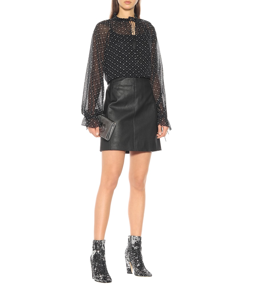 Mirren 100 sequinned ankle boots by Jimmy Choo