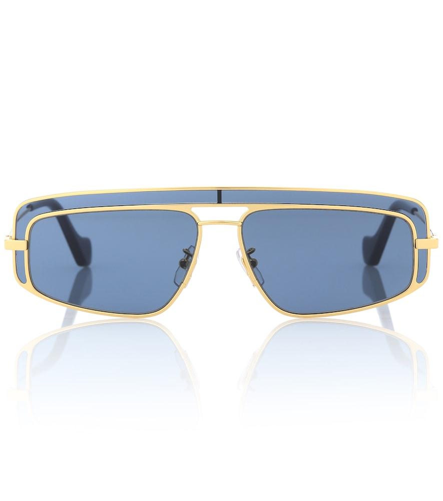 LOEWE | Rectangular Sunglasses | Goxip
