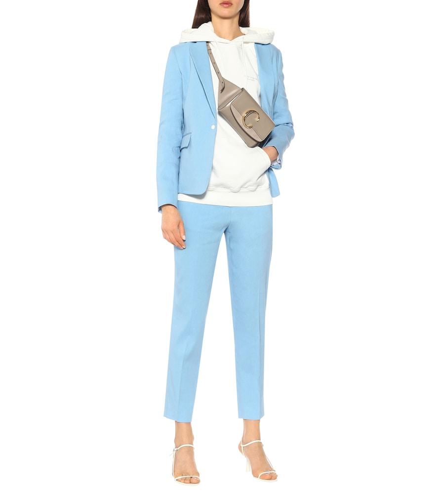 Lucy linen-blend blazer by Rag & Bone