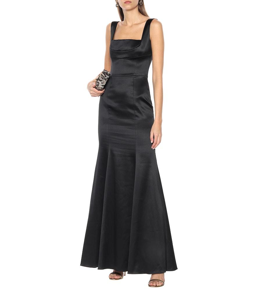 Silk-blend satin gown by Dolce & Gabbana