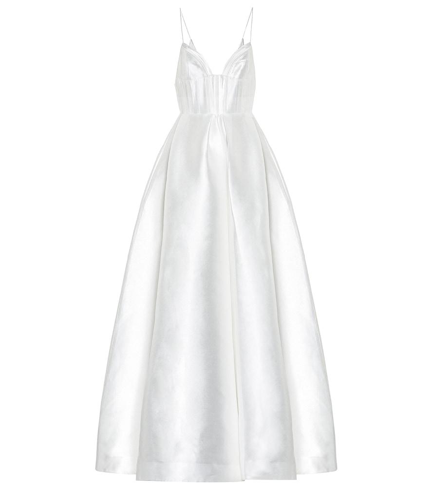 Robe de mariée Maddison en soie mélangée - Alex Perry - Modalova