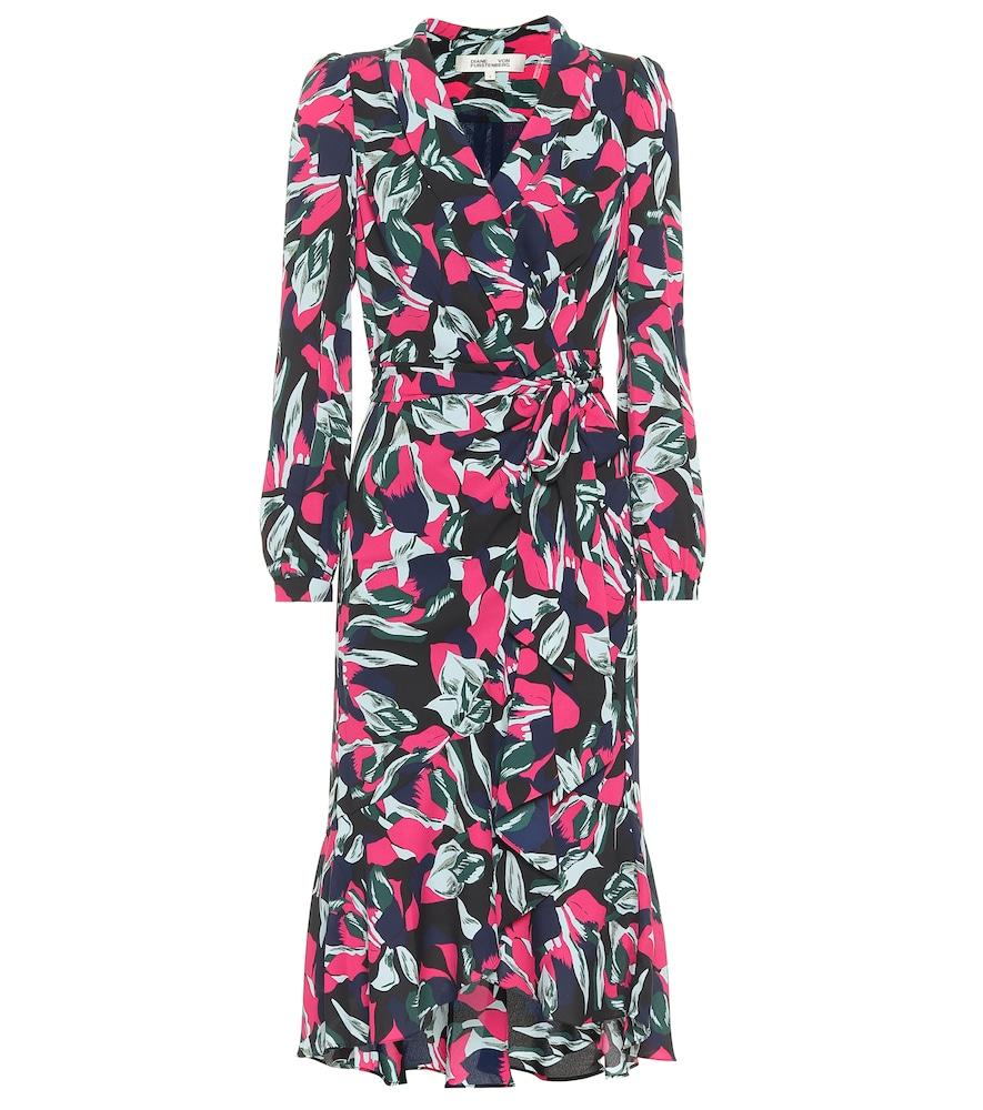Carla Two cr?e wrap dress by Diane von Furstenberg
