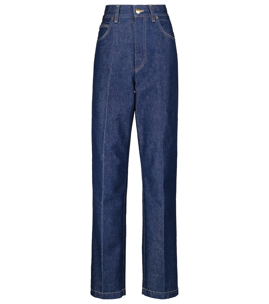The Crossway high-rise straight jeans
