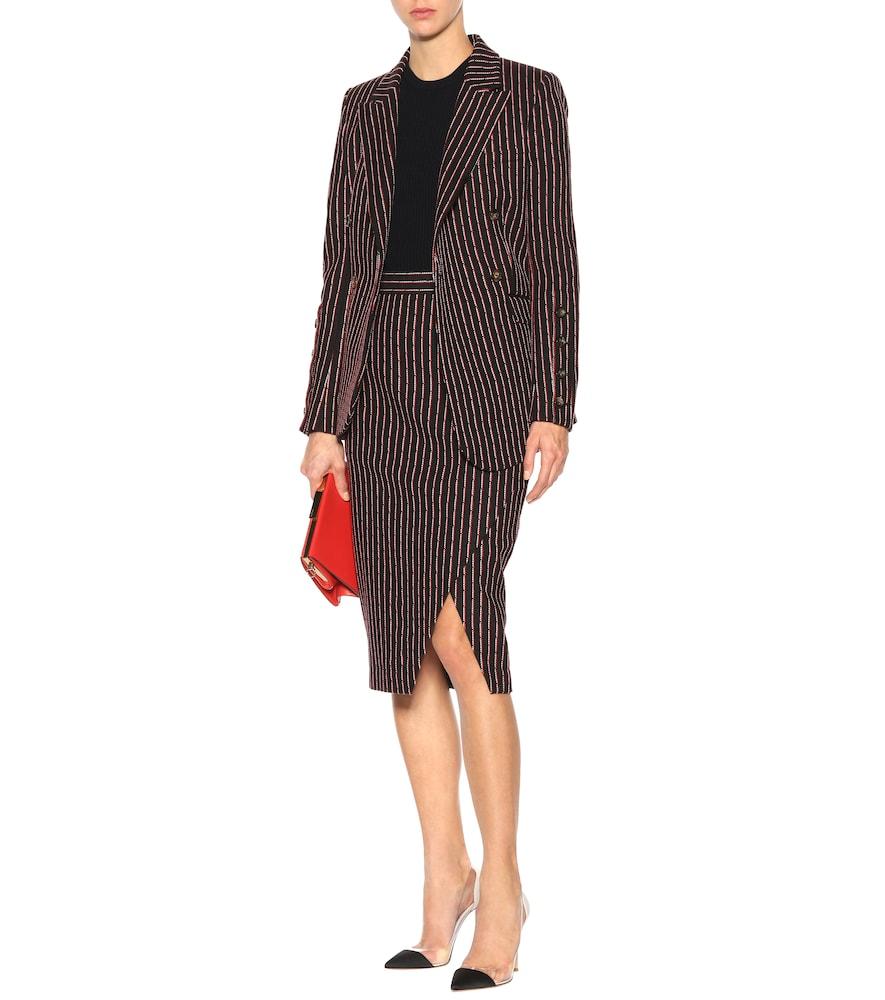 Photo of Wall pinstripe blazer by Altuzarra - shop Altuzarra Jackets, Blazers online