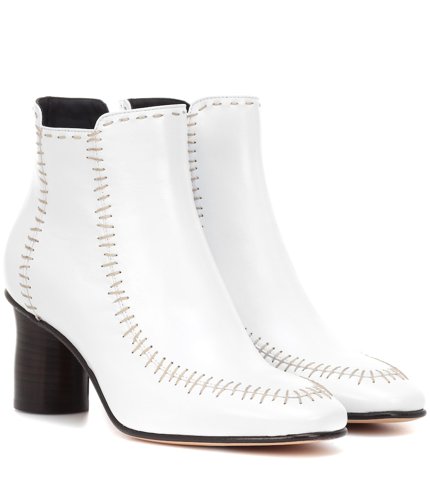Bottines Stitch en cuir
