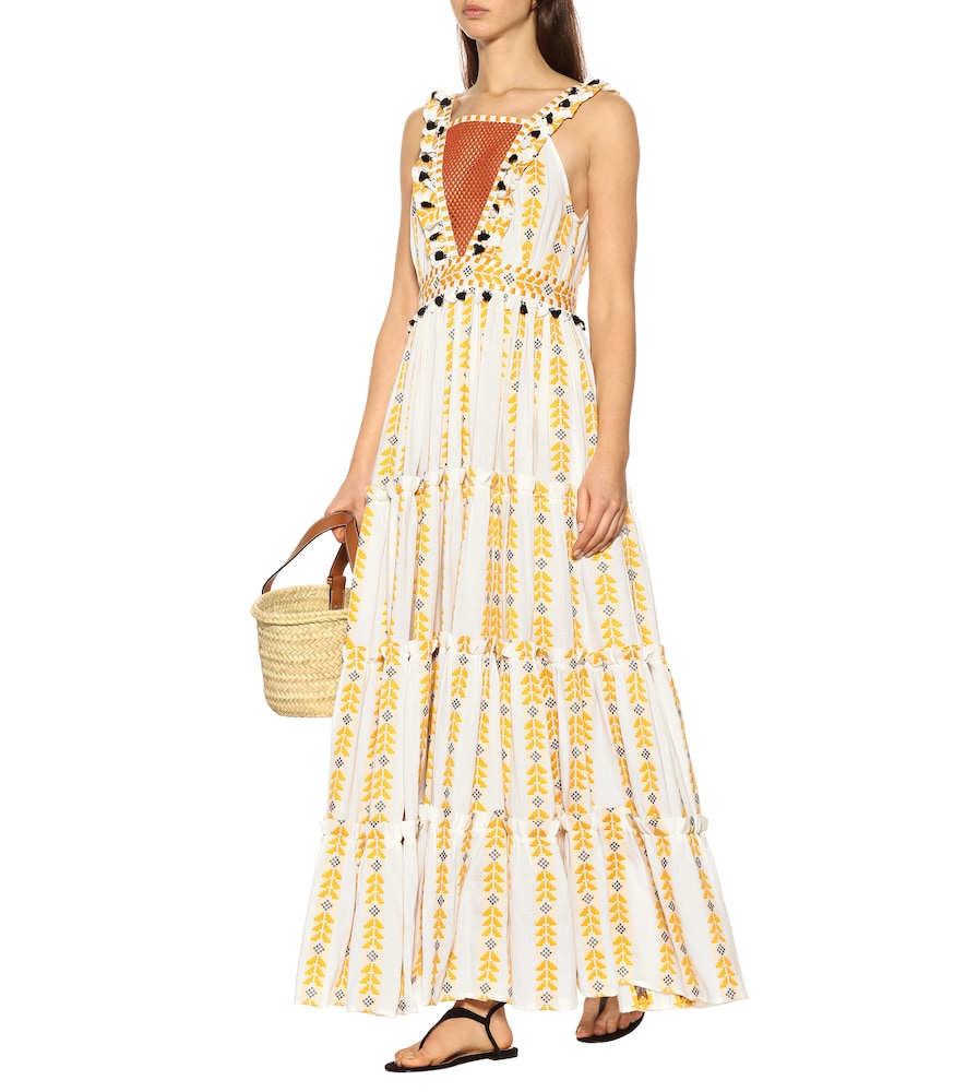 Printed cotton maxi dress by Dodo Bar Or