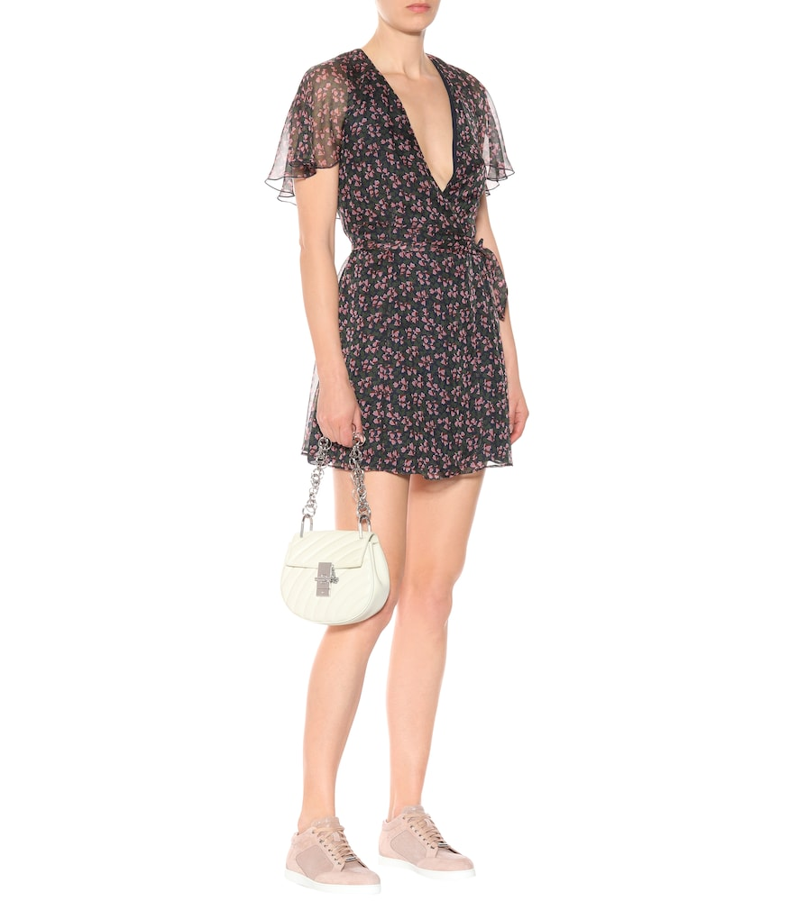 Floral-printed minidress by AlexaChung