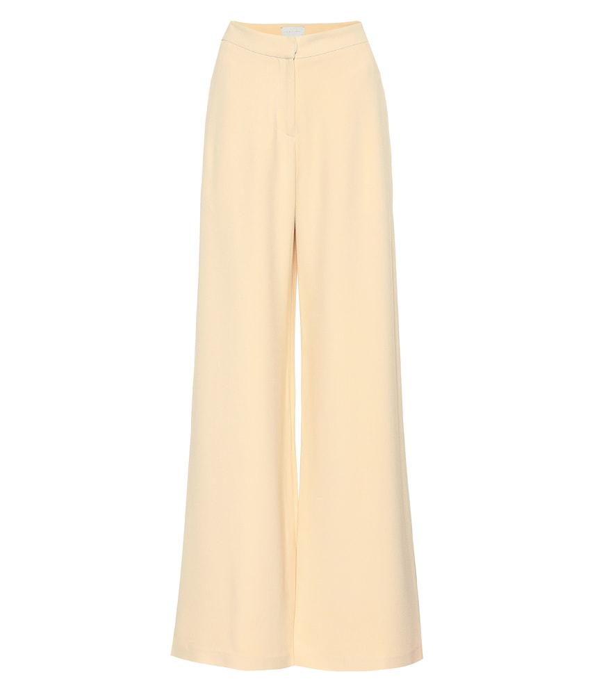 Pantalon ample Franci en crêpe