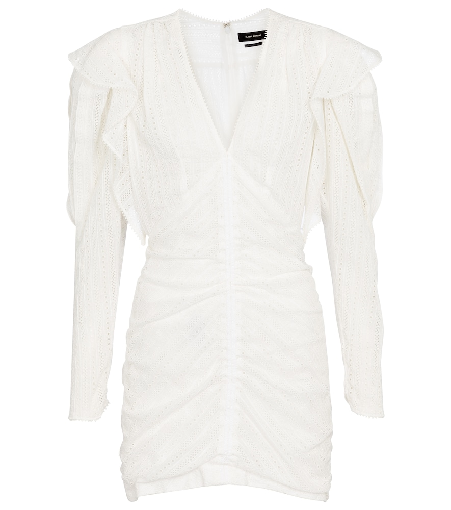 Getya cotton-blend minidress by Isabel Marant
