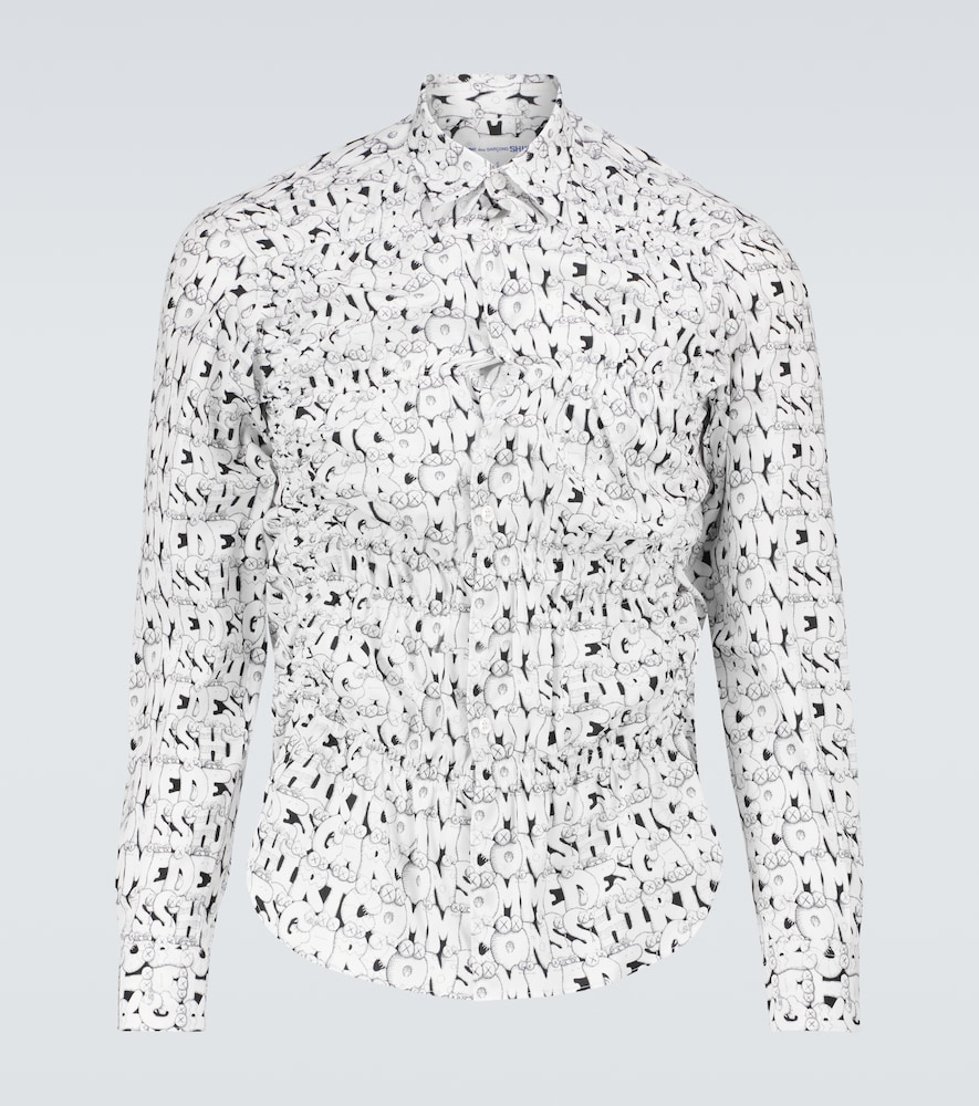 Kaws printed long-sleeve shirt