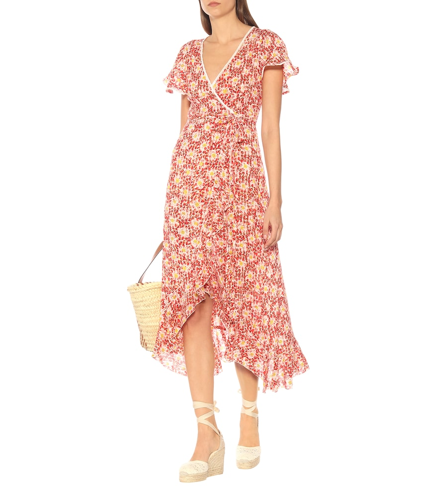 Exclusive to Mytheresa - Joe floral wrap dress by Poupette St Barth