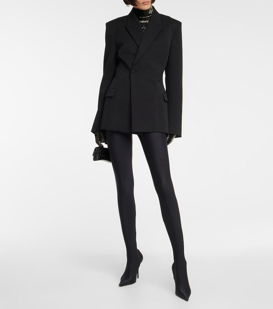 Waisted stretch-wool blazer by Balenciaga