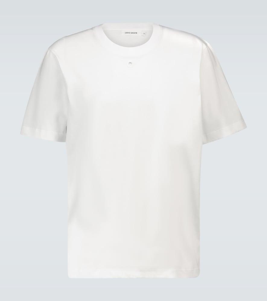 T-shirt à trou