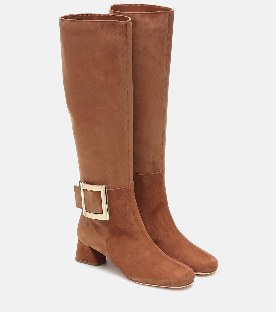 Très Vivier suede knee-high boots