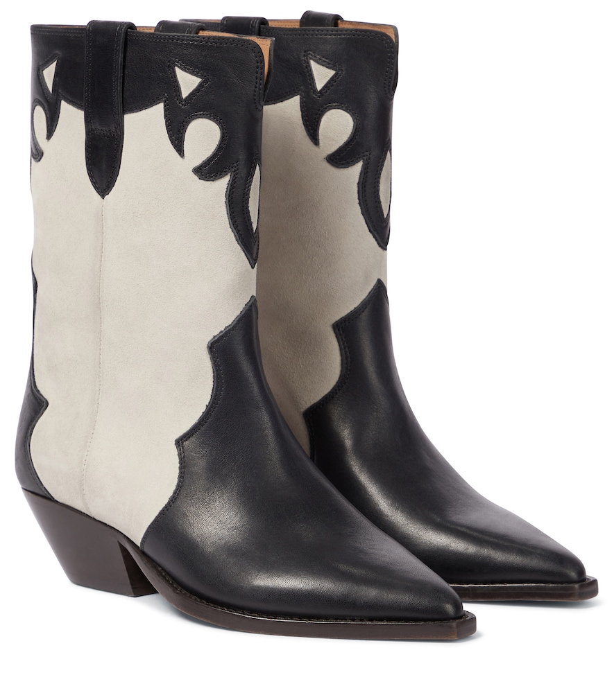Isabel Marant DUONI SUEDE COWBOY BOOTS