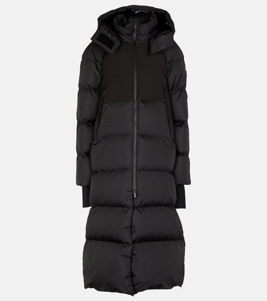 Heliotrope padded down coat