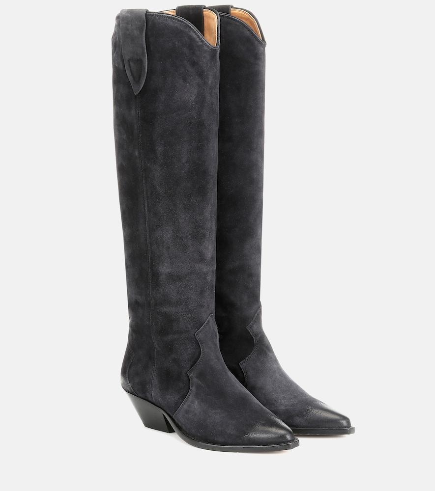 Denvee suede knee-high boots