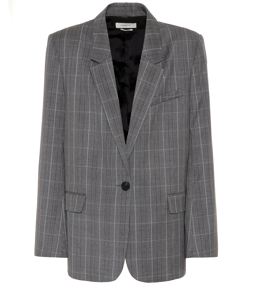 Verix checked wool blazer by Isabel Marant, ?oile