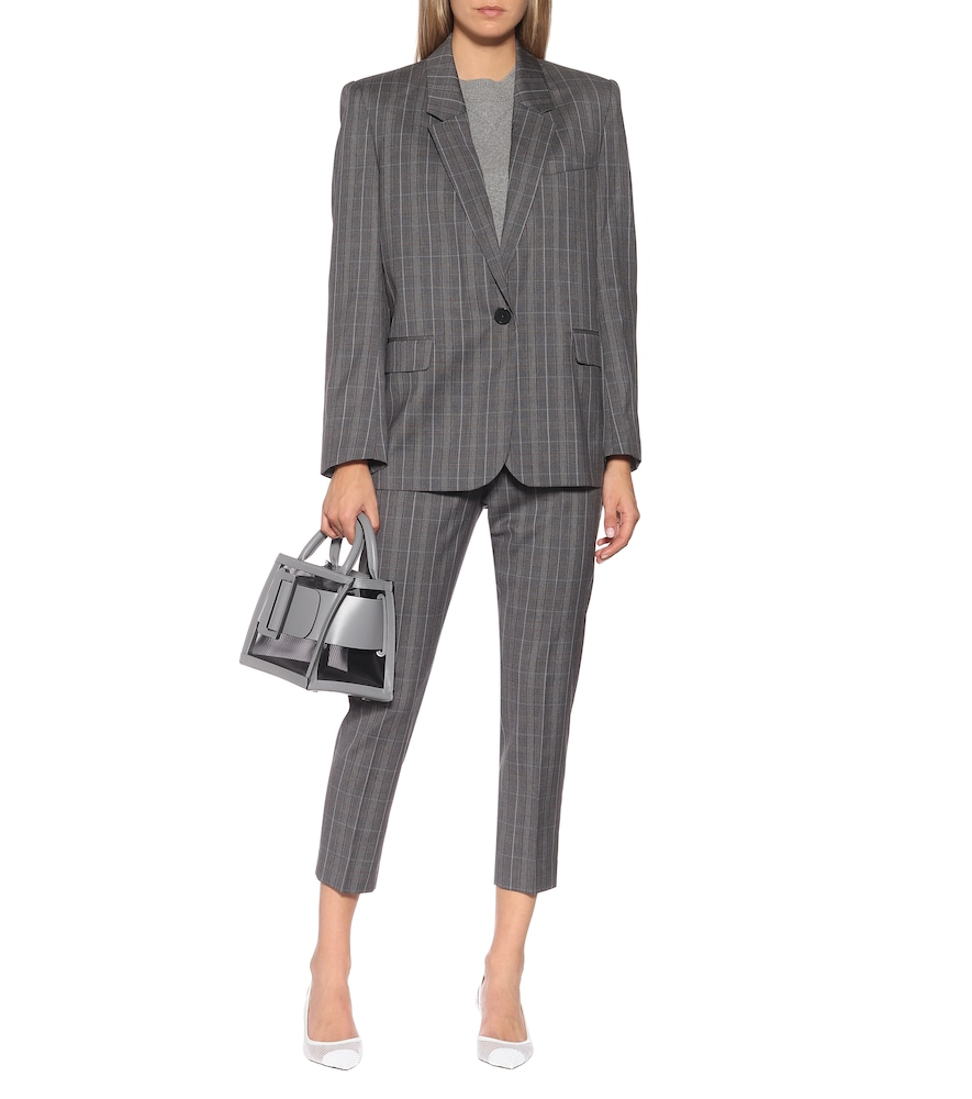Photo of Verix checked wool blazer by Isabel Marant, Étoile - shop Isabel Marant, Étoile Jackets, Blazers online