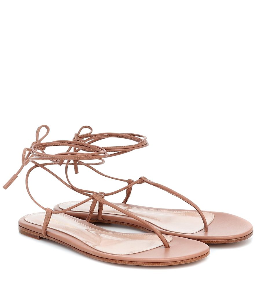 Gwenyth leather sandals