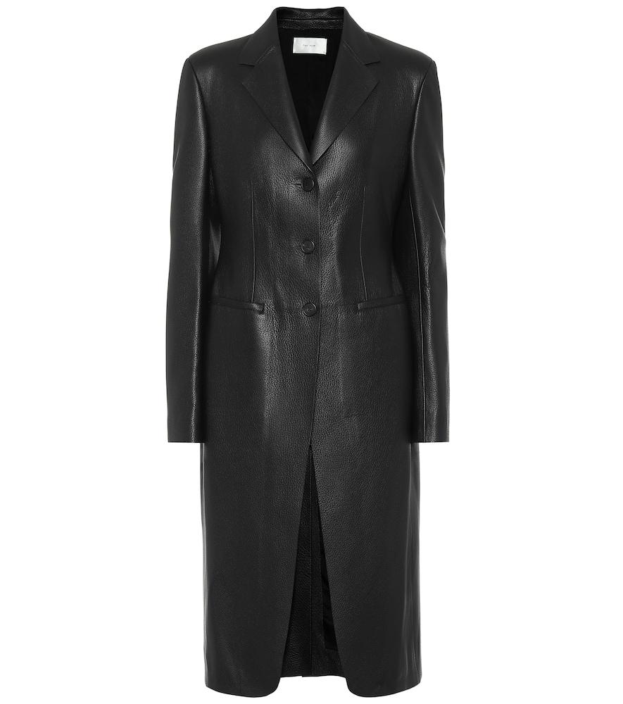 Manteau en cuir - The Row - Modalova