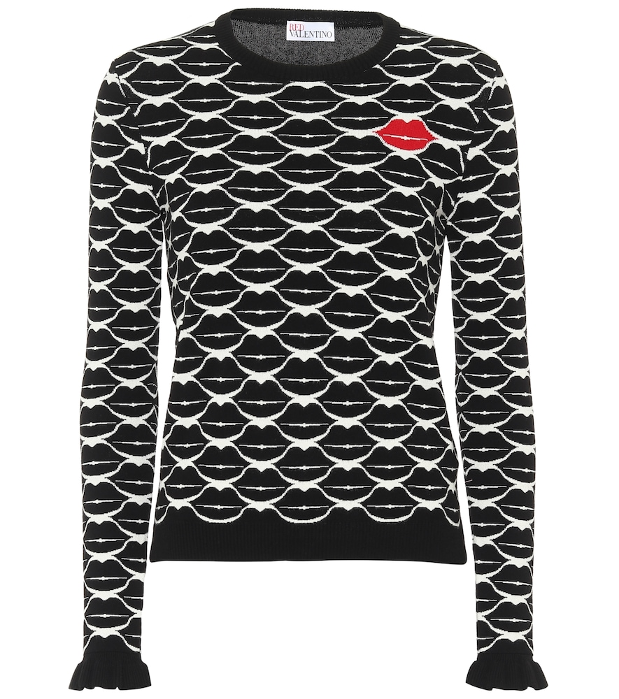 REDValentino Lips sweater