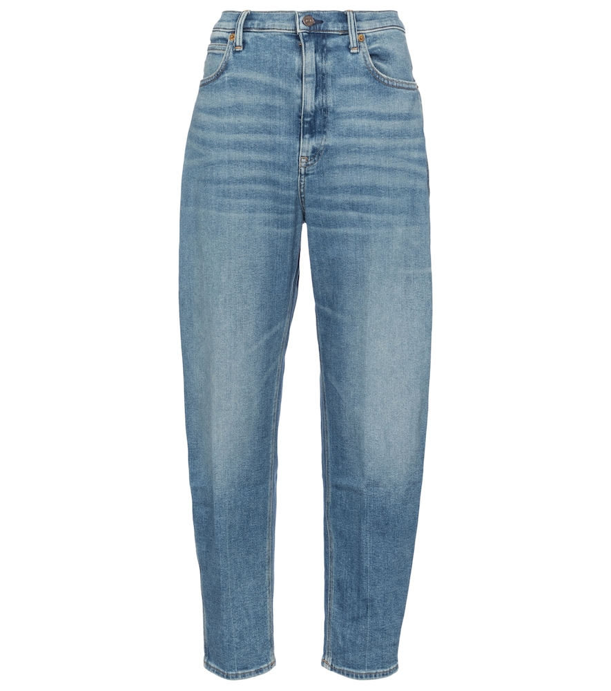 POLO RALPH LAUREN Cottons HIGH-RISE BOYFRIEND JEANS