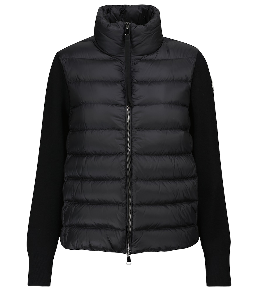 High-neck padded jacket