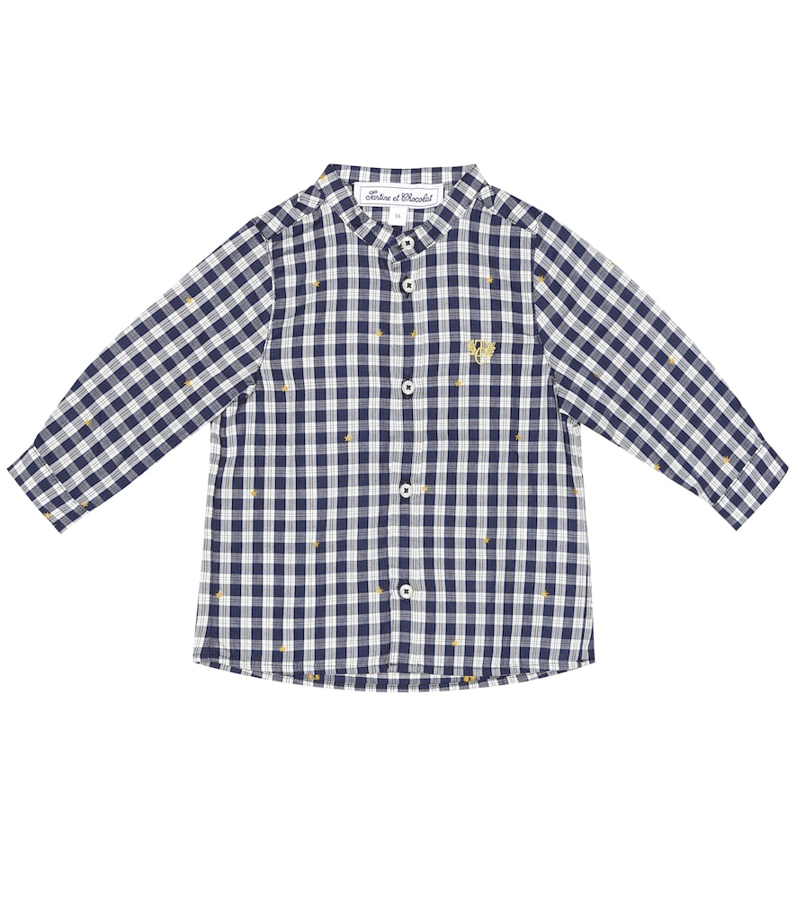 Bébé – Chemise en coton à carreaux