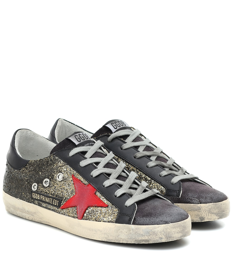 Exclusive to Mytheresa - Superstar glitter sneakers