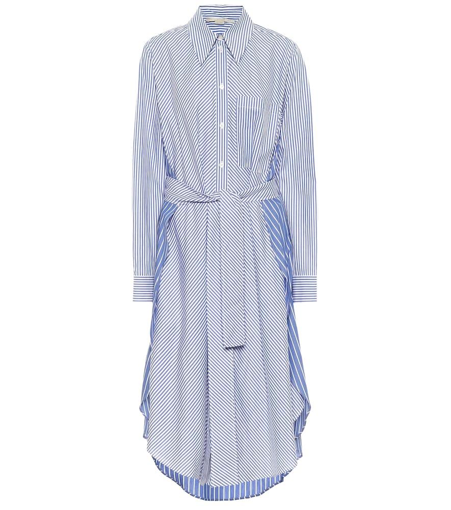 Robe chemise Kyra rayée en coton - Stella McCartney - Modalova