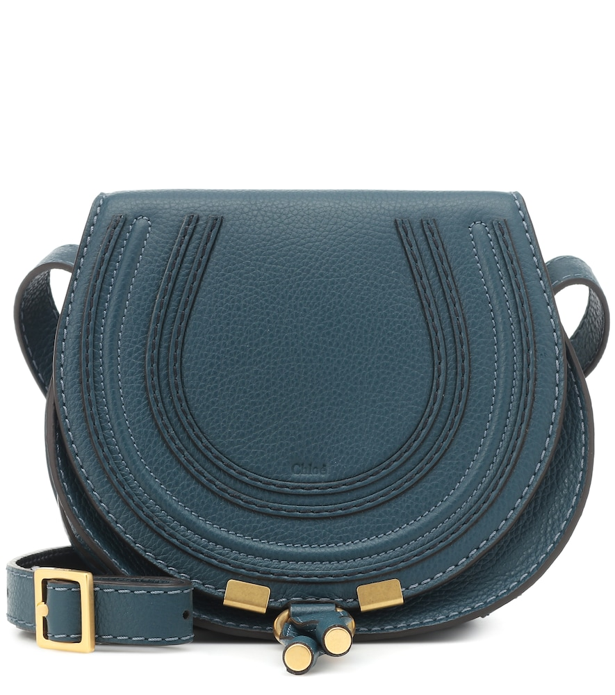 CHLOÉ | Marcie Small Leather Shoulder Bag | Goxip