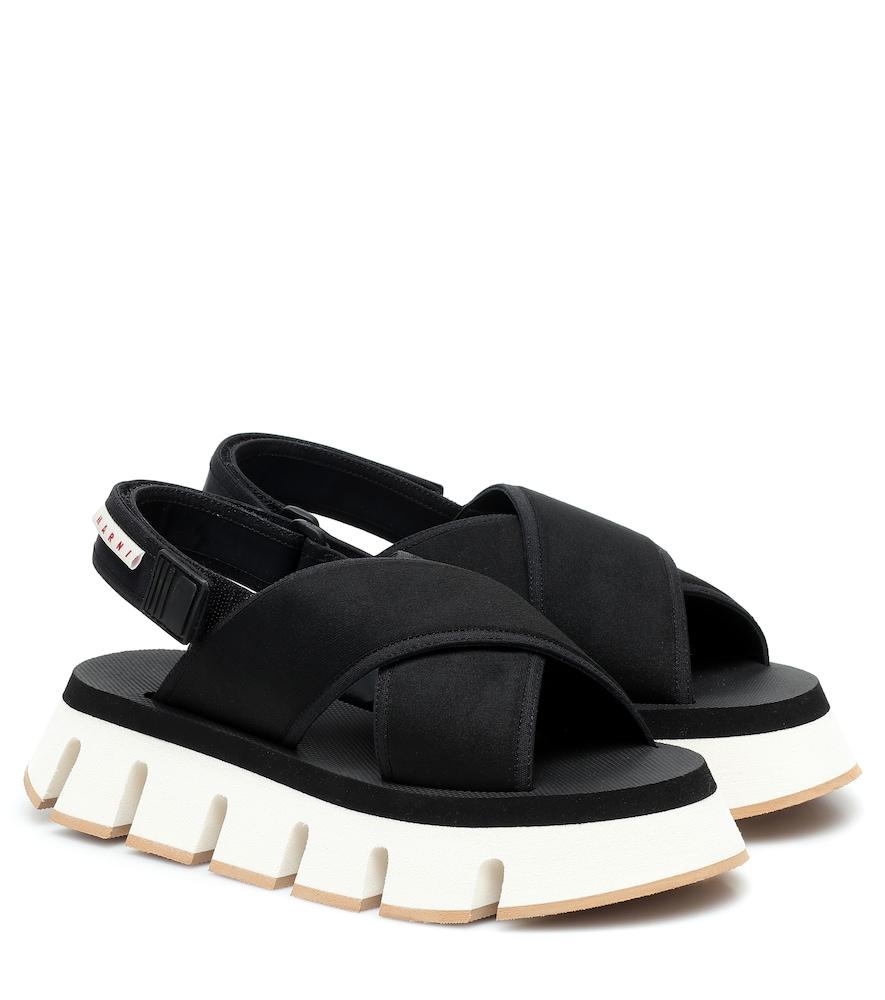 Sandales à plateforme - Marni - Modalova