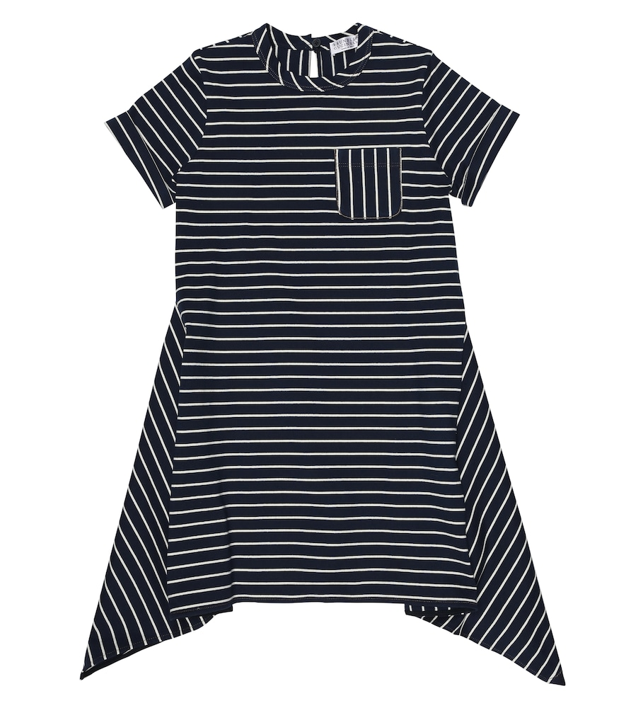 Brunello Cucinelli STRIPED COTTON DRESS