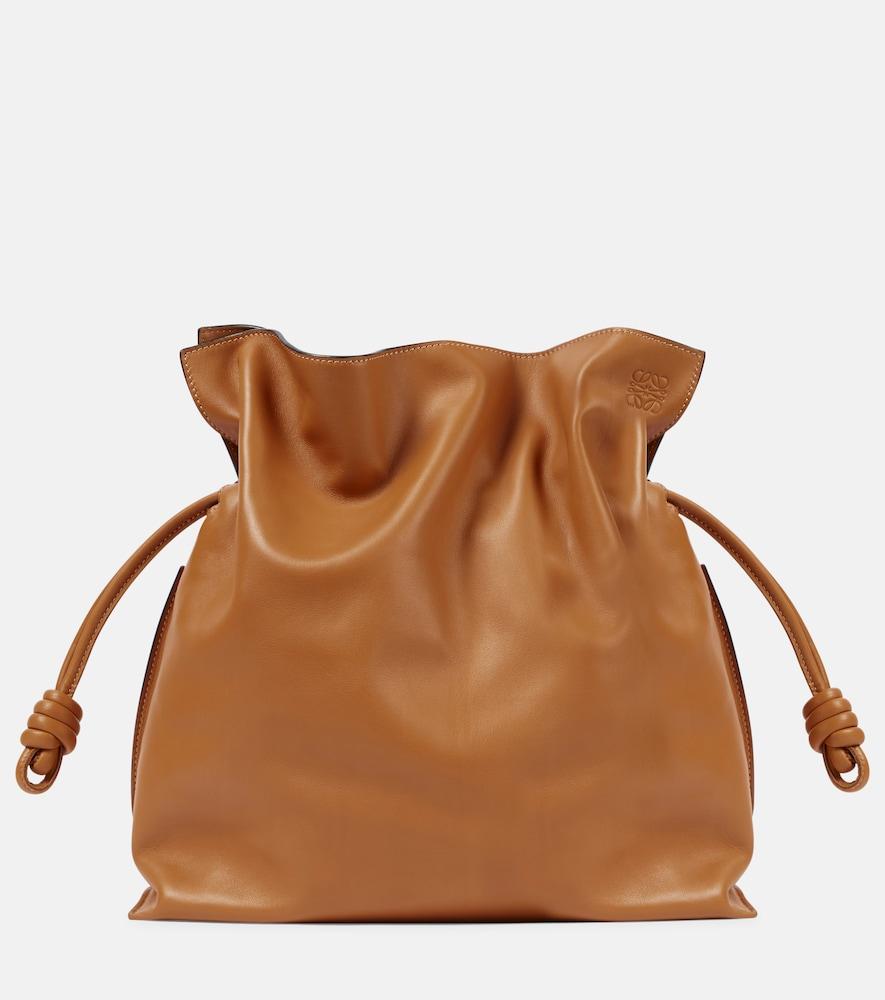 Flamenco Large leather shoulder bag