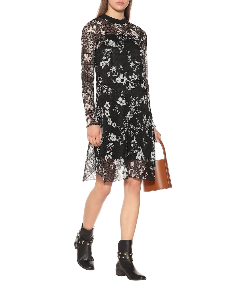 Floral-printed lace dress by See By Chloé