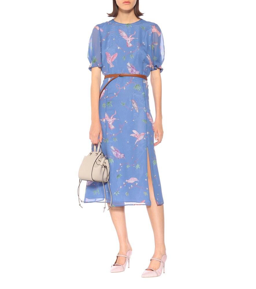 Gormann printed silk chiffon dress by Altuzarra