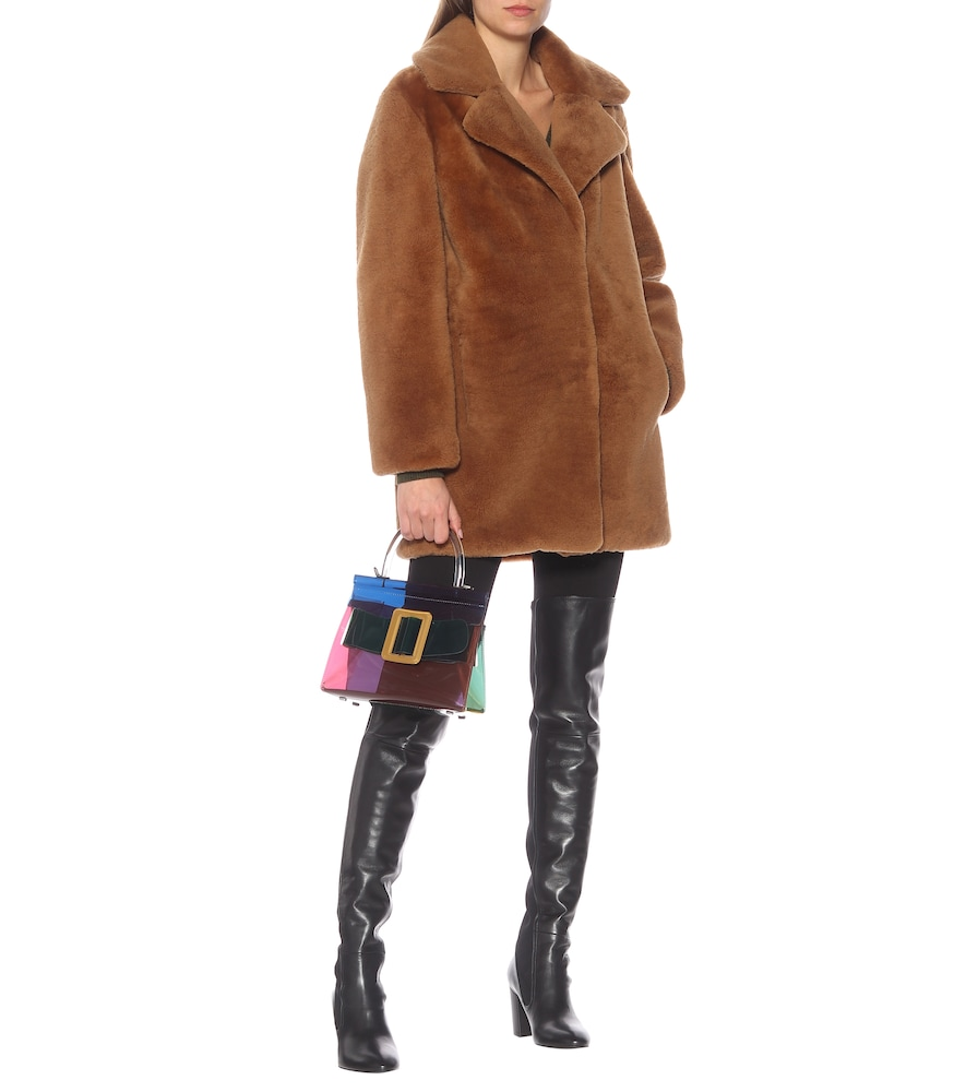 Fleur leather over-the-knee boots by Stuart Weitzman