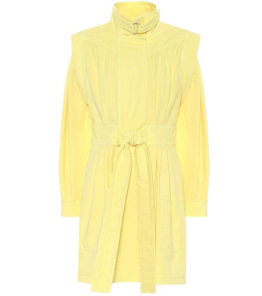 Stretch-cotton twill minidress by Stella McCartney