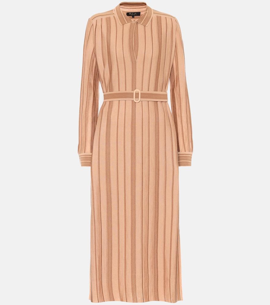 Essaouira cashmere-blend midi dress