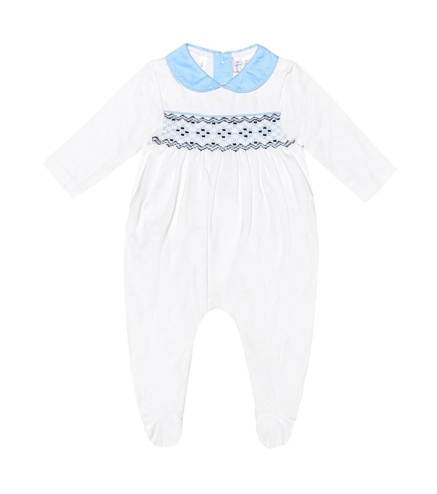 Bébé – Grenouillère brodée en coton