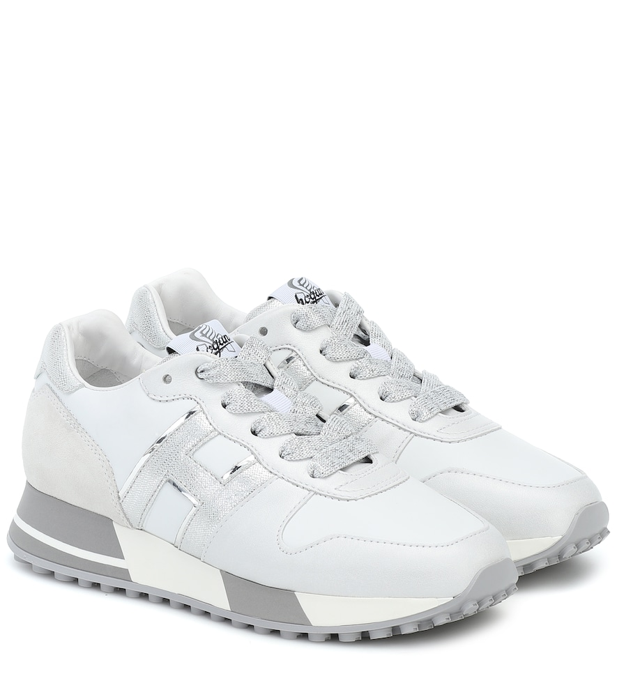 Hogan Sneakers H383 H Arg Bianche In White