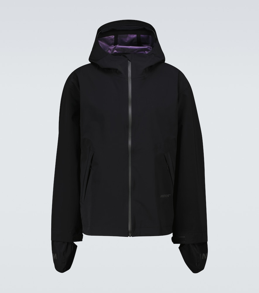 Satisfy Justice™ Three-layer Running Jacket In Black