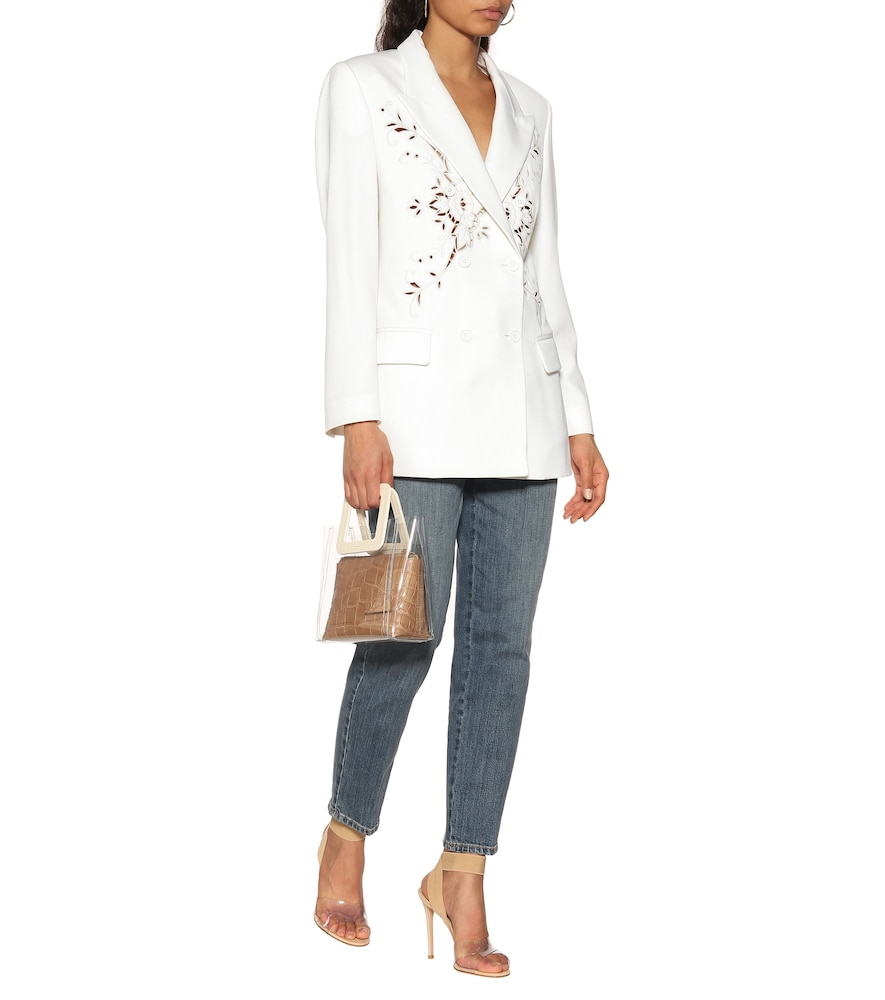 Embroidered wool blazer by Stella McCartney